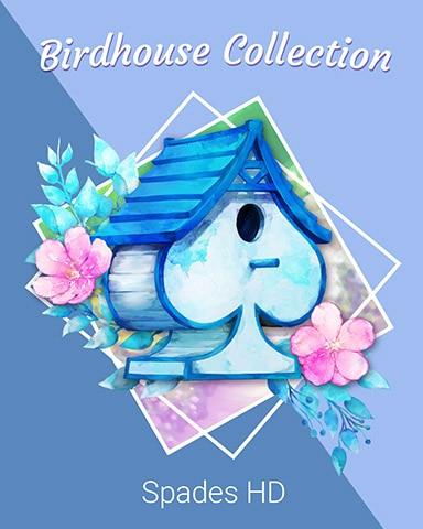 Elegant Spade Birdhouse Badge - Spades HD