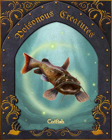 Catfish Poisonous Creatures Badge - Turbo 21 HD
