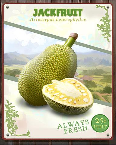 Jackfruit Produce Badge - Pogo Daily Sudoku