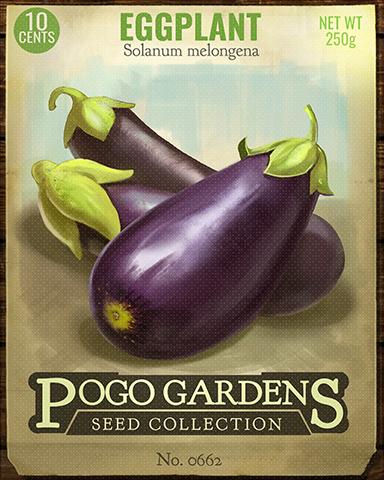 Eggplant Badge - Anagrams