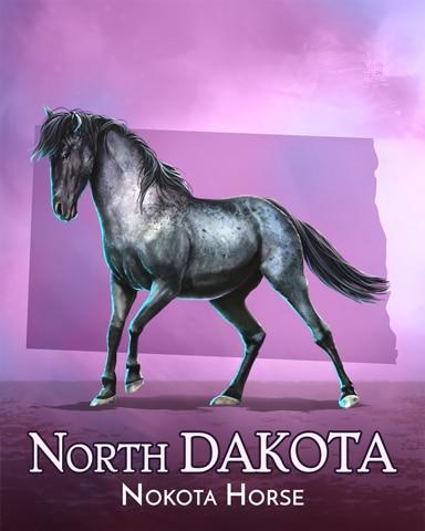 Nakota Horse Wild America Badge - Spades HD