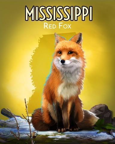 Red Fox Wild America Badge - Crossword Cove HD