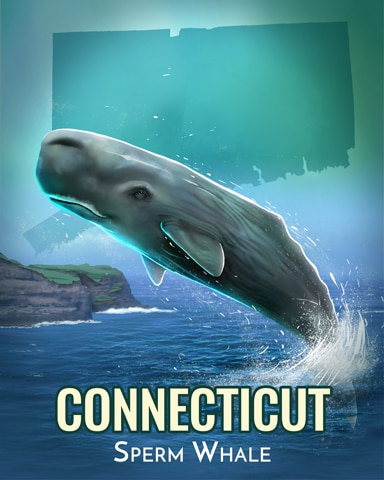 Sperm Whale Wild America Badge - Jungle Gin HD