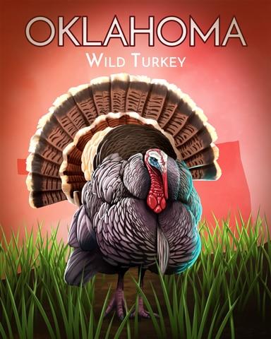Wild Turkey Wild America Badge - Crossword Cove HD