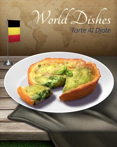 Tarte Al Djote World Dishes Badge - Canasta HD