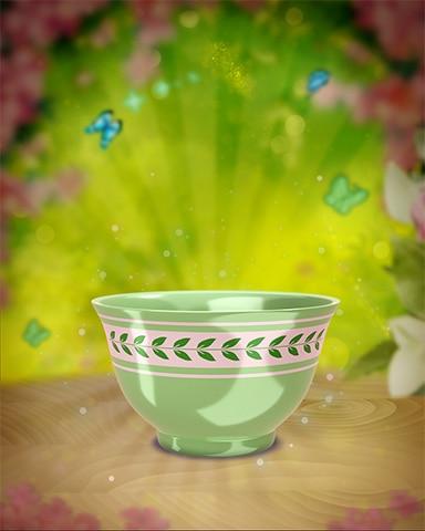 Green Vine Teacup Badge - Jungle Gin HD