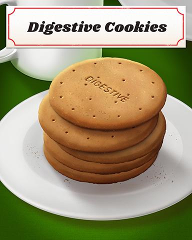 Digestive Cookies Badge - Word Whomp HD