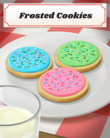 Frosted Cookies Badge - Vaults Of Atlantis Slots