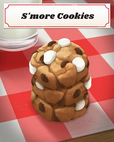 S'more Cookies Badge - Slingo Blast