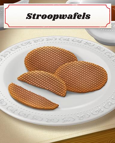 Stroopwafels Badge - Poppit! Sprint