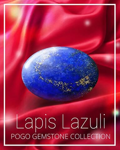 Lapis Lazuli Gemstone Badge - Claire Hart Classic