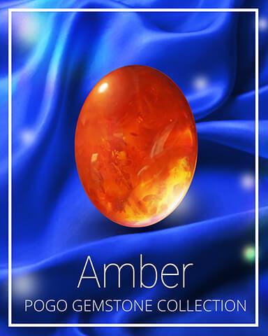 Amber Gemstone Badge - Pogo Daily Sudoku