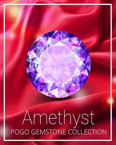 Amethyst Gemstone Badge - Pogo Addiction Solitaire HD