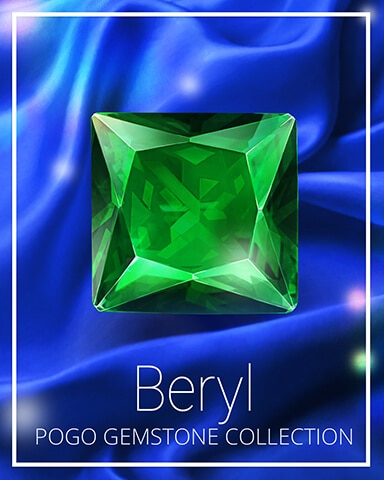Beryl Gemstone Badge - Pogo™ Slots