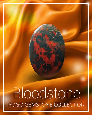 Bloodstone Gemstone Badge - Claire Hart: Secret In The Shadows