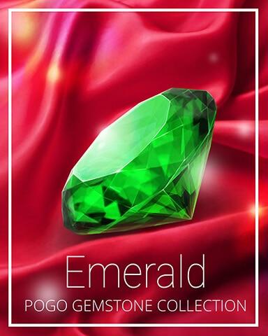 Emerald Gemstone Badge - Bookworm HD