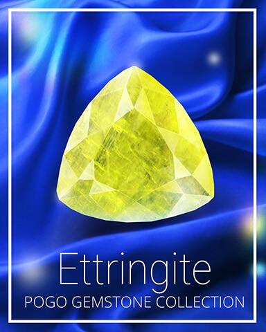 Ettringite Gemstone Badge - Spades HD