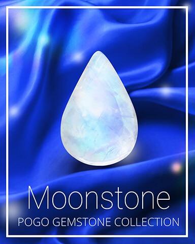 Moonstone Gemstone Badge - Cookie Connect
