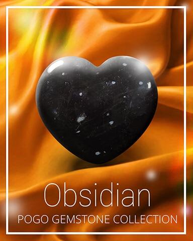 Obsidian Gemstone Badge - Canasta HD