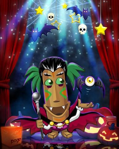 Count Tiki Costume Badge - Jungle Gin HD