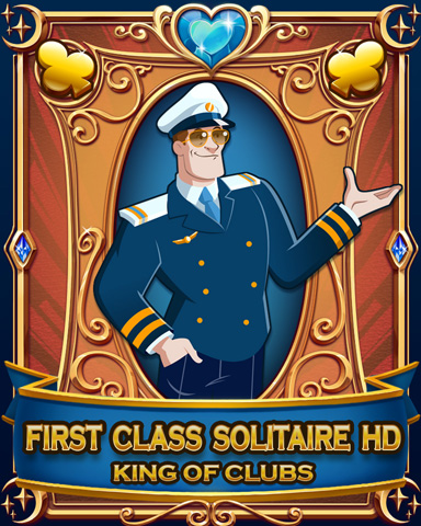 First Class Solitaire HD Badge - First Class Solitaire HD