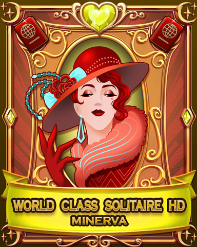 World Class Solitaire HD Badge - World Class Solitaire HD