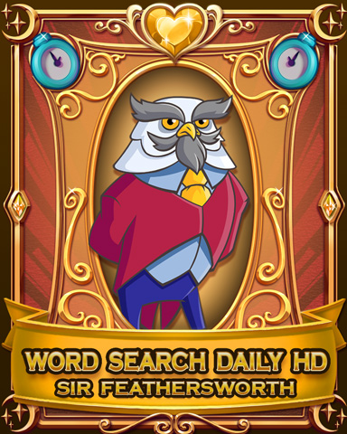 Word Search Daily HD Badge - Word Search Daily HD