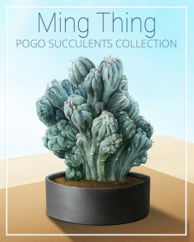 Ming Thing Succulent Badge - Dice City Roller HD