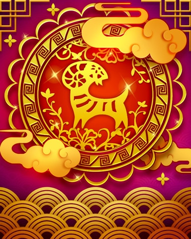 The Goat Zodiac Badge - Canasta HD