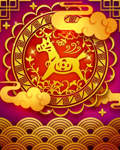 The Horse Zodiac Badge - Canasta HD