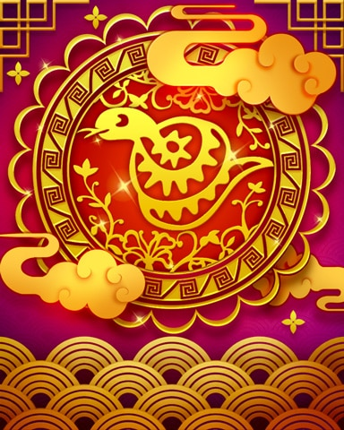 The Snake Zodiac Badge - Jungle Gin HD