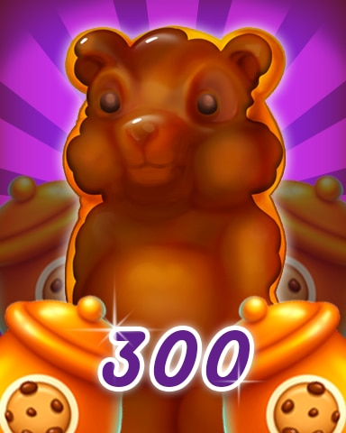 Gummy Bear 300 Badge - Cookie Connect