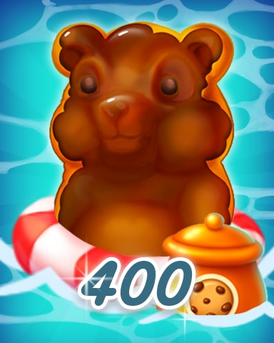 Gummy Bear 400 Badge - Cookie Connect