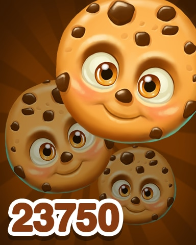 Brown Cookie 23750 Badge - Cookie Connect