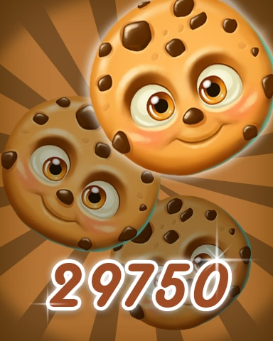 Brown Cookie 29750 Badge - Cookie Connect