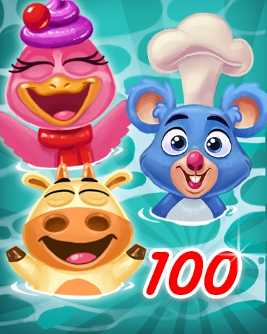 Customer 100 Badge - Cookie Connect