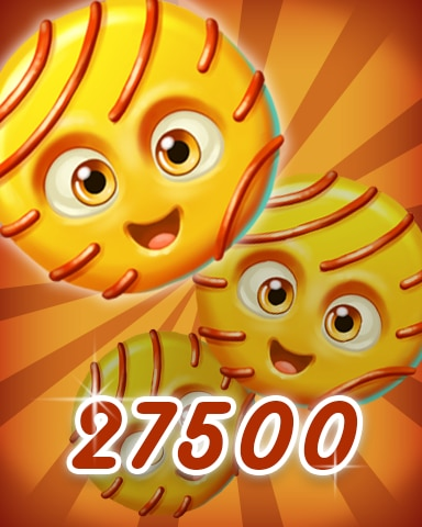 Yellow Cookie 27500 Badge - Cookie Connect