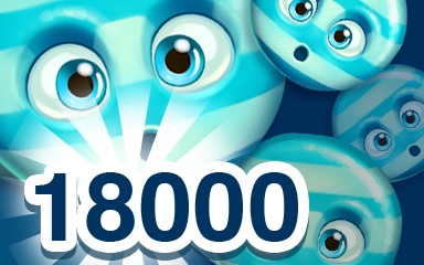 Blue Cookie 18000 Badge - Cookie Connect