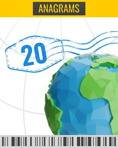 Takeoff Challenge 11 - 20 Badge - Anagrams
