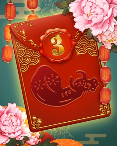 Lunar New Year Week 3 Badge - Jet Set Solitaire