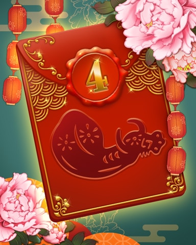 Lunar New Year Week 4 Badge - Pogo™ Slots