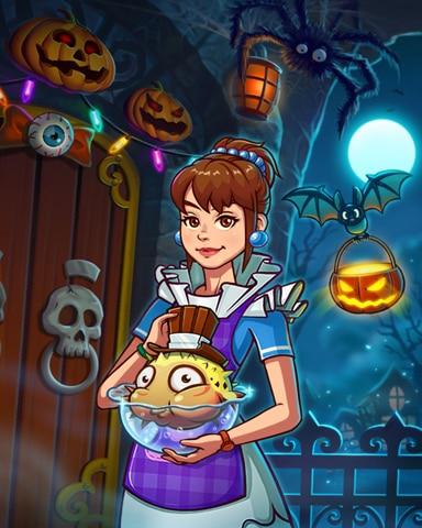 Sweet Costumes Badge - Quinn's Aquarium