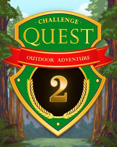 Outdoor Adventure - Week 2 Badge - Sweet Tooth Town