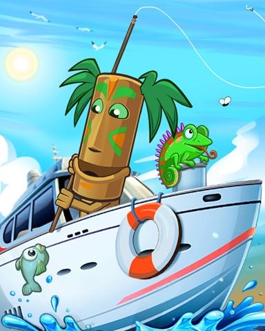 Day At Sea Badge - Jungle Gin HD