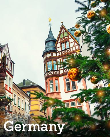 Germany Badge - Winter Wonderland