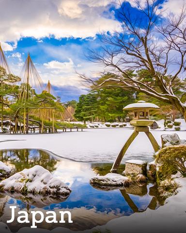 Japan Badge - Winter Wonderland
