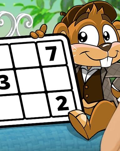 Greenhouse Gala Part 3 Badge - Pogo Daily Sudoku