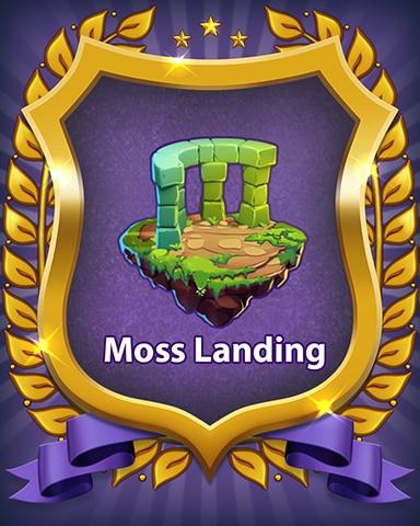 Moss Landing Badge - Bejeweled Stars