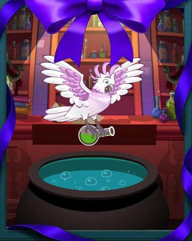 Cockatoo's Cauldron Badge - Mahjong Sanctuary