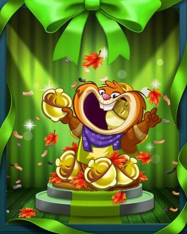 Autumn Nights Badge - Peggle Blast HD